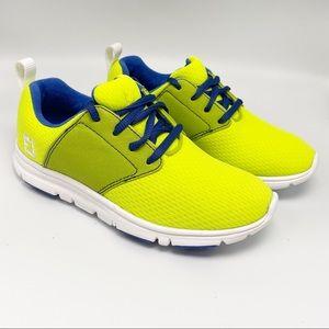 FootJoy juniors golf shoes SZ 3 girls green